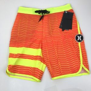 New Hurley Boys Phantom Block Party Board Shorts